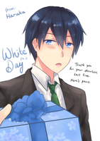 Happy White Day from Haru! by BlackTwin-Shiro