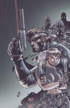 Metal Gear by iANAR