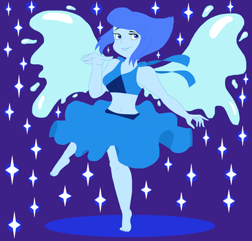 SU: ~*Lapis the Water Wings*~ by CottonCatTailToony