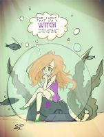 AT: Yes... I'm a witch! by Witequeen