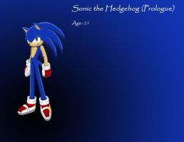 Prologue Sonic colored by xXStoryWolfXx