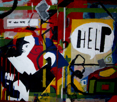 Help Diptych by ashleigheperry