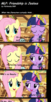 My little Pony: Friendship is Jealous by Fluttershy1989