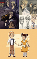 Portal 2 doodles II by SIIINS
