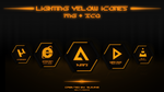 Lighting Yellow Icons by 9LWANE