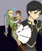 Legend of Zelda x Ouran host club by I-am-Miss-Duckie