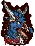 Comission: Kyhu Zombie Badge by DemonDragonSaer