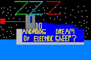 Do Androids dream by asstookmyusername42