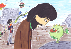 George and Ringo in the sea of monsters by Abbey-Road-Medley