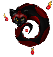 Cat Mini Demon Weapon adopt for IdahoPaintStudio by GrimmXD-Adopts