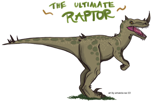 The Ultimate Raptor by Dominoblox