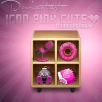 Icon Cute pink by tuyagure456