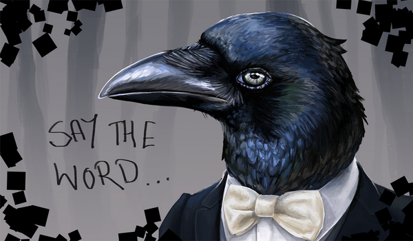 Mr. Crow by Fuelledbytea