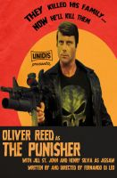 Oliver Reed as The Punisher by AtomTastic