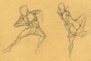 male anatomy sketches 06 by XxragnoraukxX