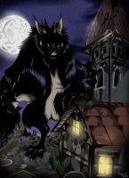 Night of Werewolf by VegaBone