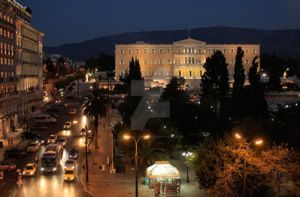 Athens syntagma-Parliament building ASY1 by LemnosExplorer