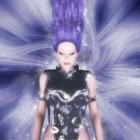 Violet Power by Aral3D
