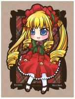 Rozen Maiden - Shinku by Akage-no-Hime