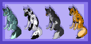 Canine Adopts by The-Shy-Violinist