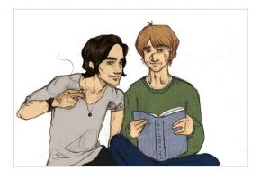 remus, sirius, whitman - color by mirity