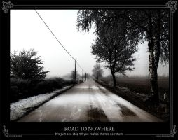 Road to nowhere by Hias
