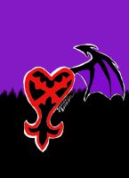 My Heartless Symbol -finished- by NightFurry14