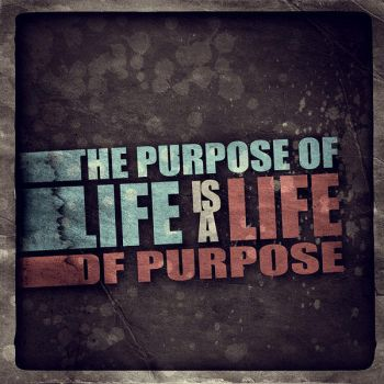 The purpose of life by Le-Kwi