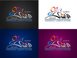 Farashat Ladies Studio logo by GHAREB
