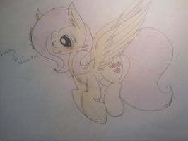 Fluttershy For: WilczaNati o3o by troublemaker1230
