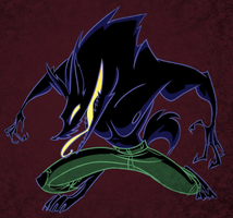 Wolfman by omgdragonfly