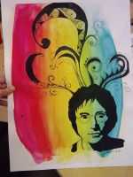 John Lennon by keepcounting