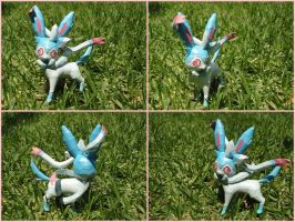 Shiny Sylveon papercraft by BRSpidey