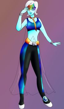 Rainbow moonstone request by WaterLily-Gems