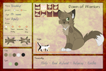 THRUSHLEAP || Application || Dawn-of-Warriors by rainwolfeh
