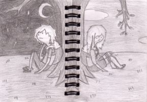 Finn and Fionna - Dreaming Complete by snapperboy