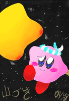 Kirby~ Lost in Space by Galaxia34