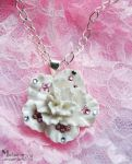 Cherry Blossom Pendant by Sheepingly