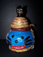 Kitty emperor jar by yuyinfeng