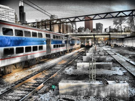 Train To Desolation by TinMan13