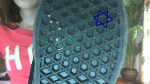 Star Of David Shoe by Grasblade