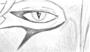MS Paint Right Eye of Anonymous by Yavanni