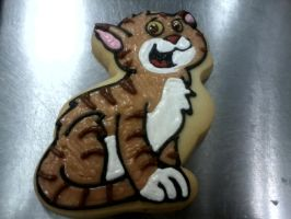 Another Cat Cookie by PlummyPress