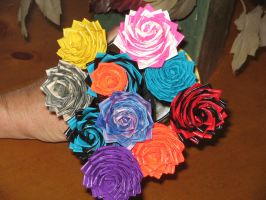 Duck Tape Roses by Miyavi-chanfan25