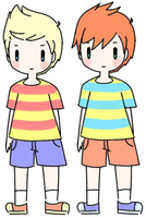 Lucas and Claus by MemoriiMakiko