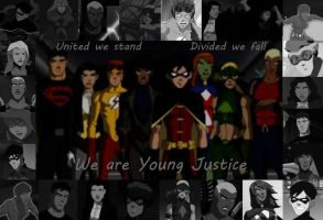 We are Young Justice by MissMartian4ever