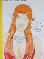 Lady Malon's portrait by CJ-DB