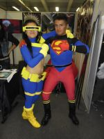 Superboy and GilrCyclops by eriksuperboy
