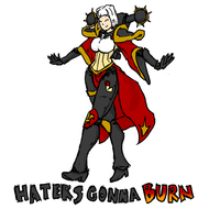 Haters gonna burn by Keluuu