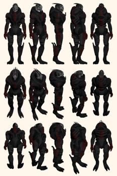 Mass Effect, Nihlus - Model Reference. by Troodon80